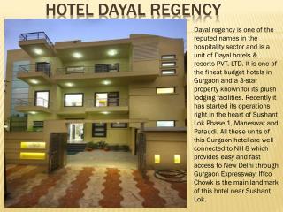 Hotel Dayal regency