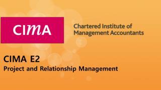 Cima E2 Practice Test