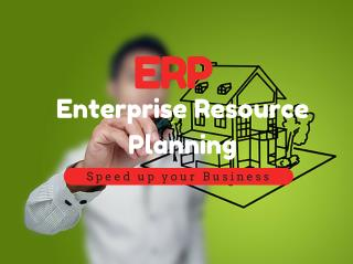 Enterprise Resource Planning(ERP) Software - Speed Up your Business