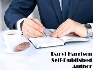 Daryl Harrison_Self-Published Author