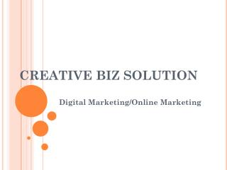 SEO Company in Delhi | Creative Biz Solution