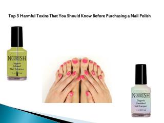 Worried for the fungus in your toe nails? Buy the antifungal nail polish from NOURISH which are formulated by expert pod