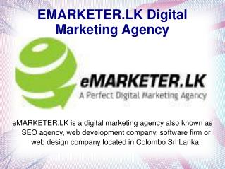 eMARKETER.LK Digital Marketing Agency
