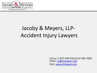 Jacoby & Meyers, LLP-Accident Injury Lawyers