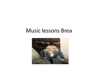 Music lessons in Yorba Linda