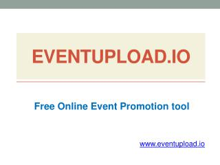 Free Online Event Marketing Website