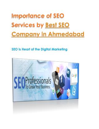 Best SEO Service Provider by Best SEO Company in Ahmedabad
