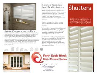 Shutters Brochure 2014