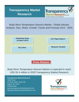 Body-Worn Temperature Sensors Market