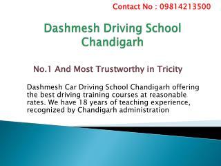 Dashmesh Driving School in Chandigarh