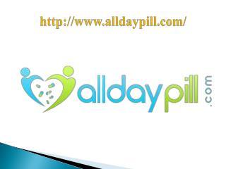 Buying prescription drugs | Ordering prescriptions online  | AllDayPill