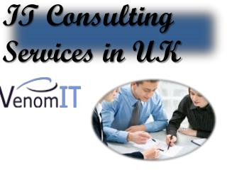 IT Consulting Services in UK
