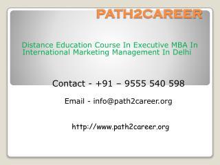 Distance Education Course In B.Tech In Telecommunication In Delhi@8527271018