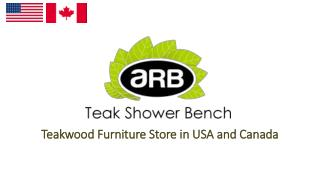 Teak Shower Bench-Online Store in USA and Canada