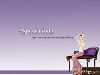 Get Handmade Jewelry from Alquimia Shop