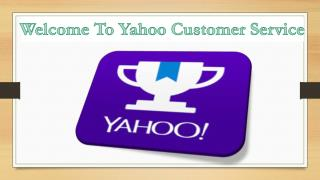 Yahoo Customer Service Phone Number 1-855-984-1516 (Toll Free)