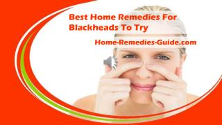 Best Home Remedies For Blackheads To Try