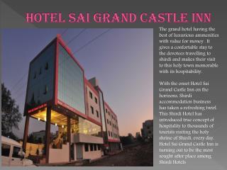 Hotel sai Grand Castle Inn