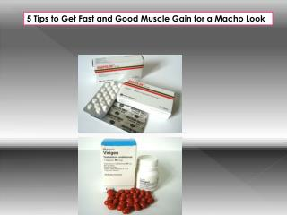5 Tips to Get Fast and Good Muscle Gain for a Macho Look