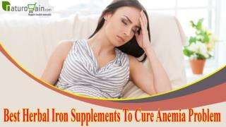 Best Herbal Iron Supplements To Cure Anemia Problem Naturally