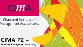 Cima P2 Practice Test