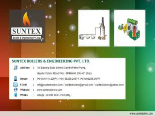 Namkeen Plant Manufacturers, Non IBR Steam Boiler