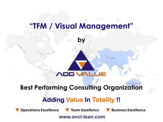 Visual Management & 5S - ADDVALUE - Nilesh Arora