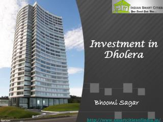 Investment in Dholera