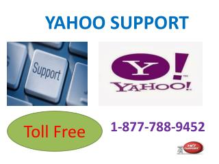 Yahoo Support Toll Free Number 1-877-788-9452