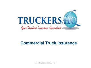 Best Commercial Truck Insurance