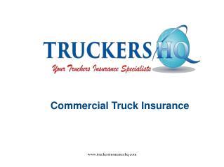 Best Commercial Truck Insurance