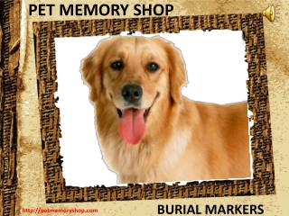 Buy Personalized Dog Grave Markers From Pet Memory Shop