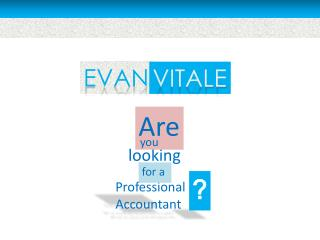 Evan Vitale - Certified Personal Accountant
