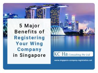 Benefits of Registering Company Branch in Singapore