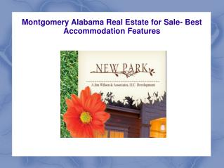 Montgomery Alabama Real Estate for Sale