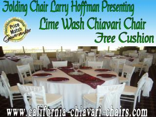 Limewash Chiavari Chair Larry Hoffman
