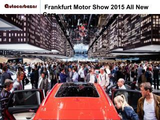 Frankfurt Motor Show 2015-2016