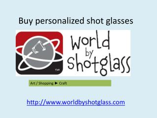 buy custom shot glasses