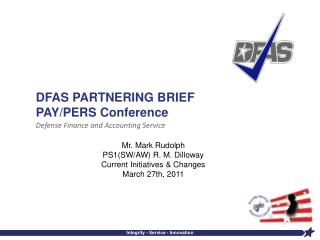 DFAS PARTNERING BRIEF PAY