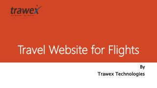 Travel Website for Flights