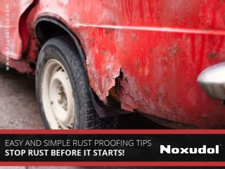 Importance of Rust Proofing Products - Read Now