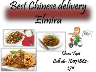 Best Chinese delivery Elmira