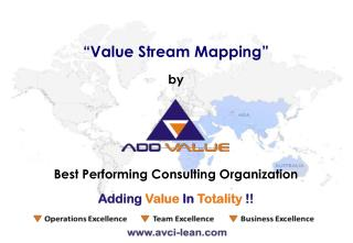 Value Stream Mapping Process - ADDVALUE - Nilesh Arora