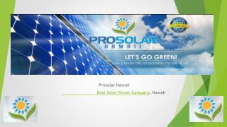 Kona Solar Installers