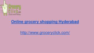online supermarket | Groceryclick