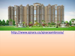 Ajnara Ambrosia Luxury Flats