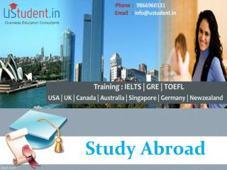 Overseas Education Consultants in Hyderabad – Ustudent