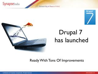 Drupal7 has been launched