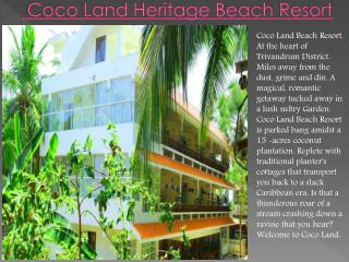 Coco Land Heritage Beach resort
