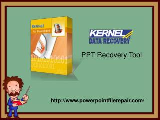 Download PowePoint Recovery Tool